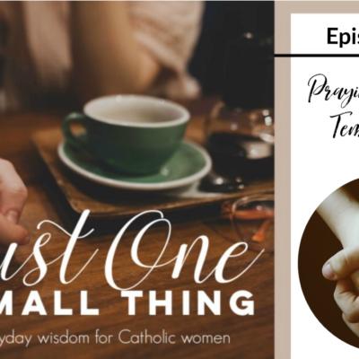 J1ST 101: Guest Meg Hunter-Kilmer aka Hobo for Christ and Praying for your Temperament